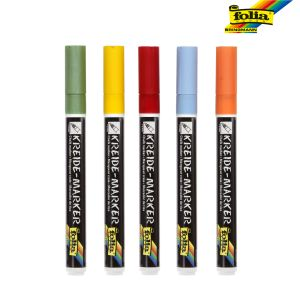 Kreide Chalk Markers Set of 5 Pastel Dreams
